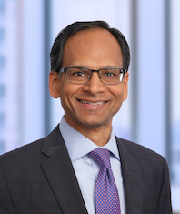 Headshot of Nitin Jain.